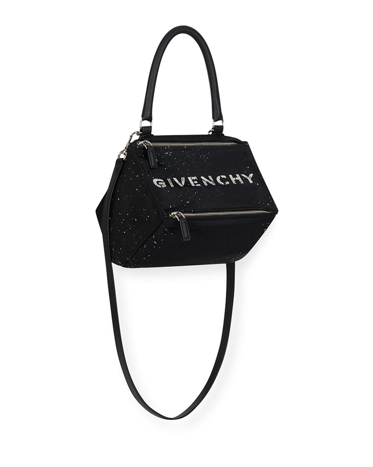 b6fea77387d8 Lyst - Givenchy Small Pandora Bag in Black