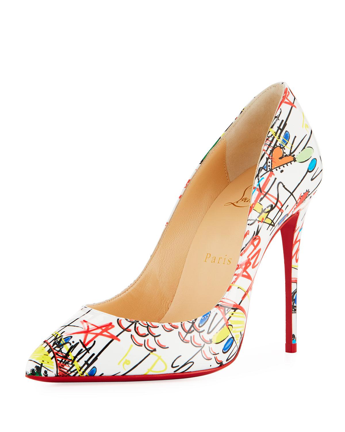 61f8f4b3c4b0 Gallery. Previously sold at  Bergdorf Goodman · Women s Christian Louboutin  Pigalle ...