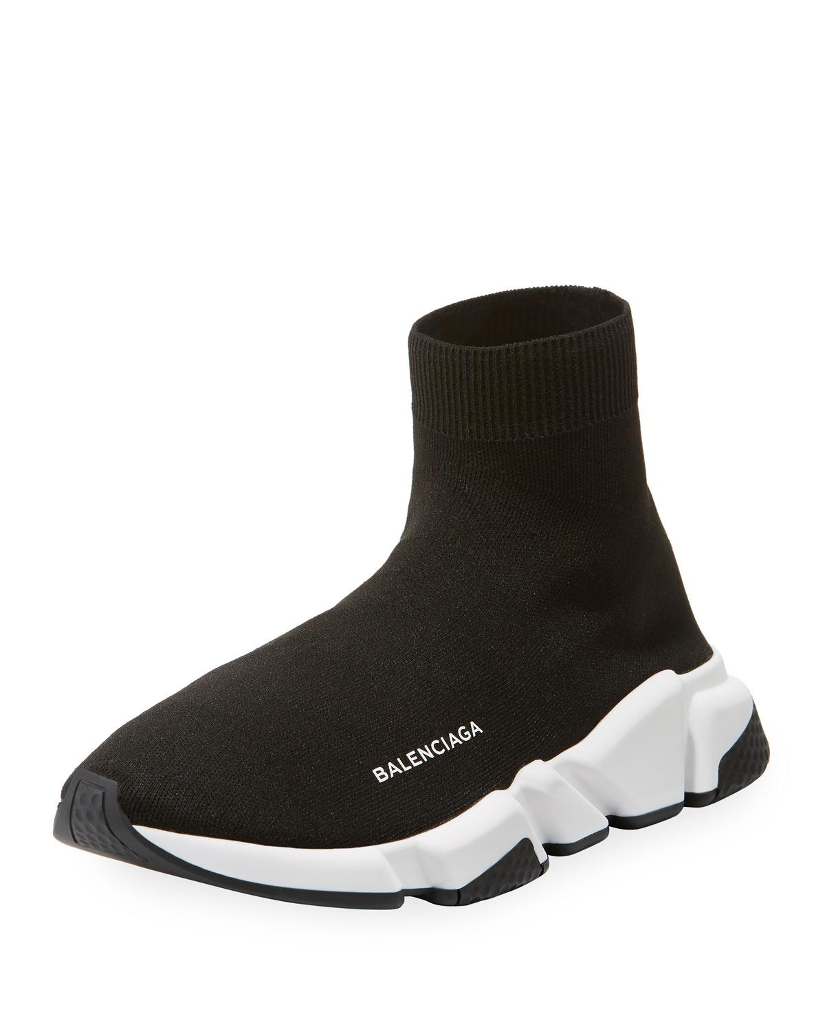 Lyst - Balenciaga Men s Speed Sneakers - Noir - Size 47 (14) in ... 631044e40