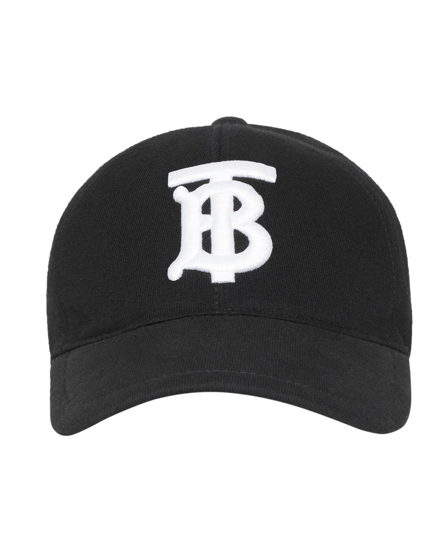 9a88b8a05c6 Lyst - Burberry Men s Tb Jersey Baseball Cap in Black for Men