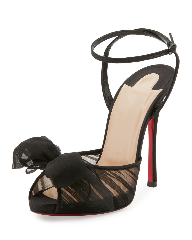 Christian Louboutin Artydiva 150 Platform Ankle-Strap Sandals RRHKpLE5j7