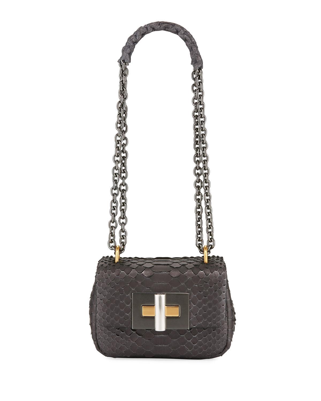 680cde949438d Tom Ford. Women's Natalia Mini Python Shoulder Bag