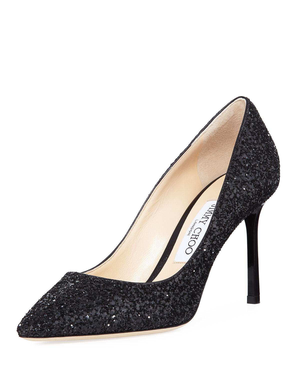7e759f1d53d9 Gallery. Previously sold at  Bergdorf Goodman · Women s Jimmy Choo Glitter  ...