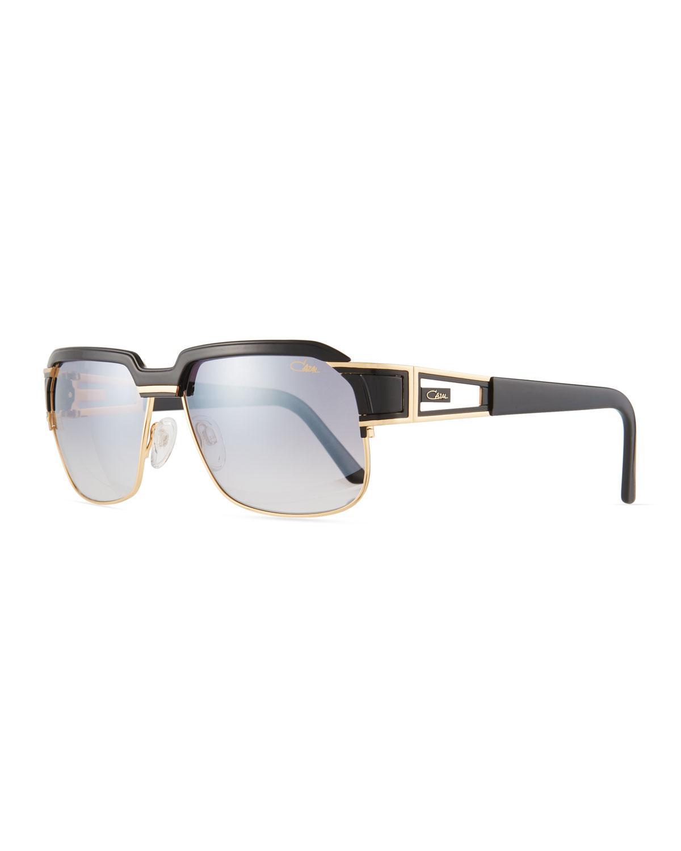 9bd7595c20ba Lyst - Cazal Men s Square Half-rim Acetate metal Sunglasses for Men