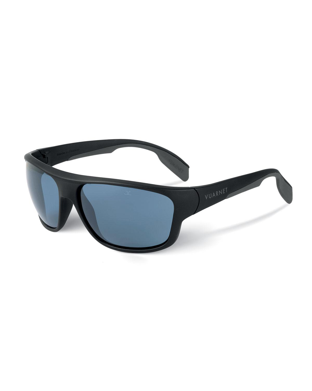 5c2b52ee31a3 Lyst - Vuarnet Men s Active Racing Large Nylon Wrap Sunglasses in Blue for  Men