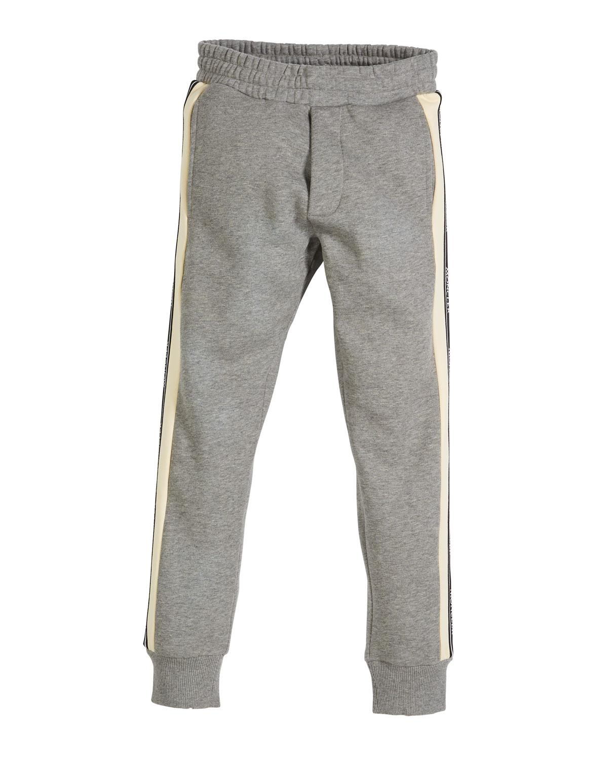 754f3b65a Lyst - Moncler Completo Colorblock Jacket   Joggers Set in Gray for Men