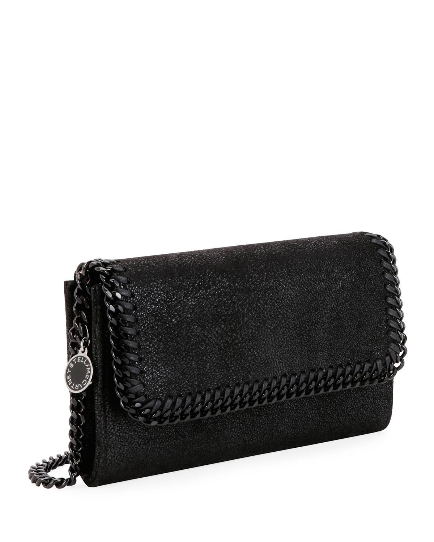 Lyst - Stella McCartney Falabella Shaggy Deer Crossbody Bag (black  Hardware) in Black 4a476afc8fe88