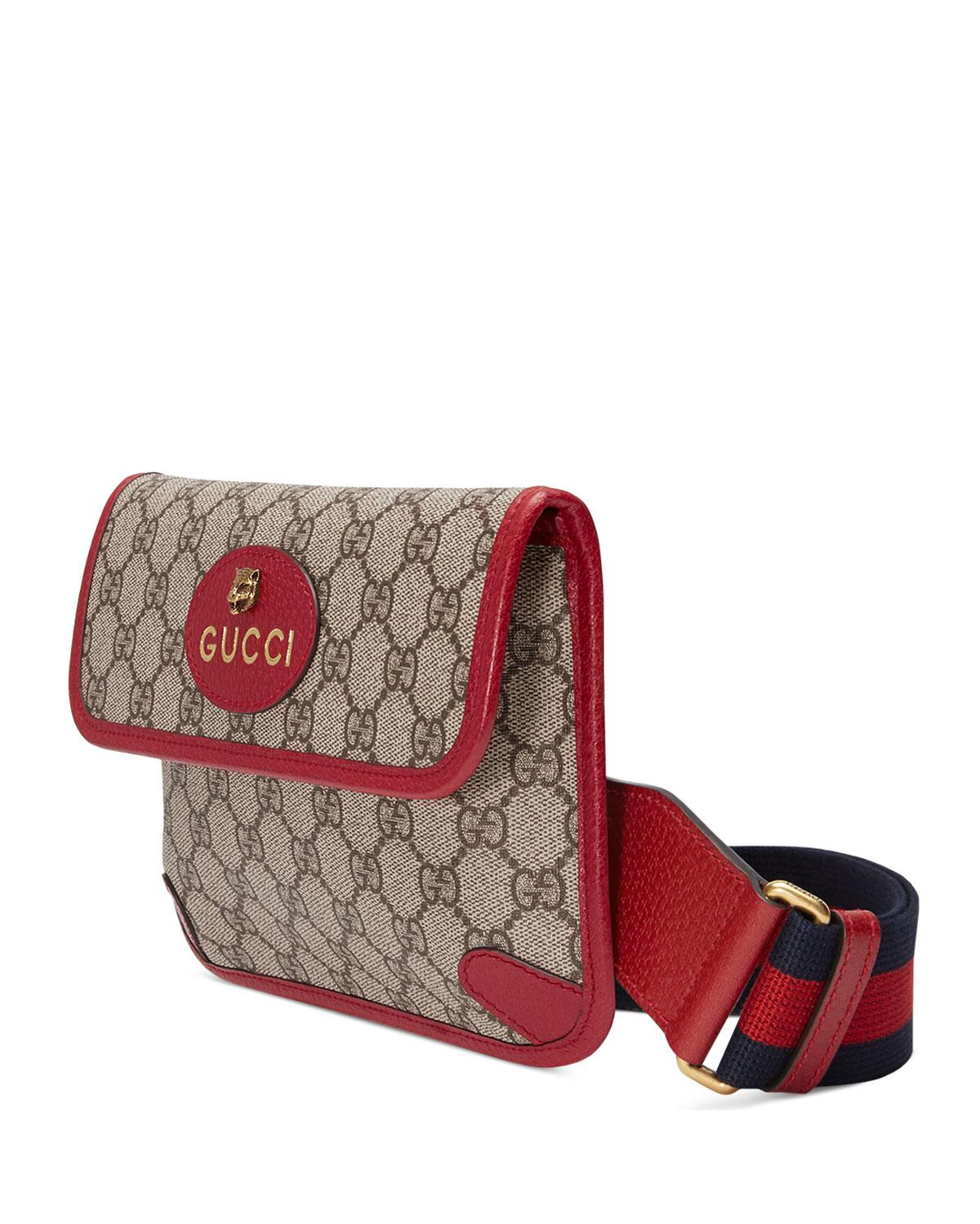 83590bc95a77 Gucci Totem Three-piece Shoulder Bag in Red - Lyst