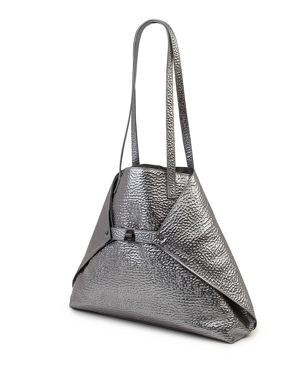 Lyst - Akris Ai Medium Hammered Shoulder Bag - Save 45.02958579881657% ef1a10b51f