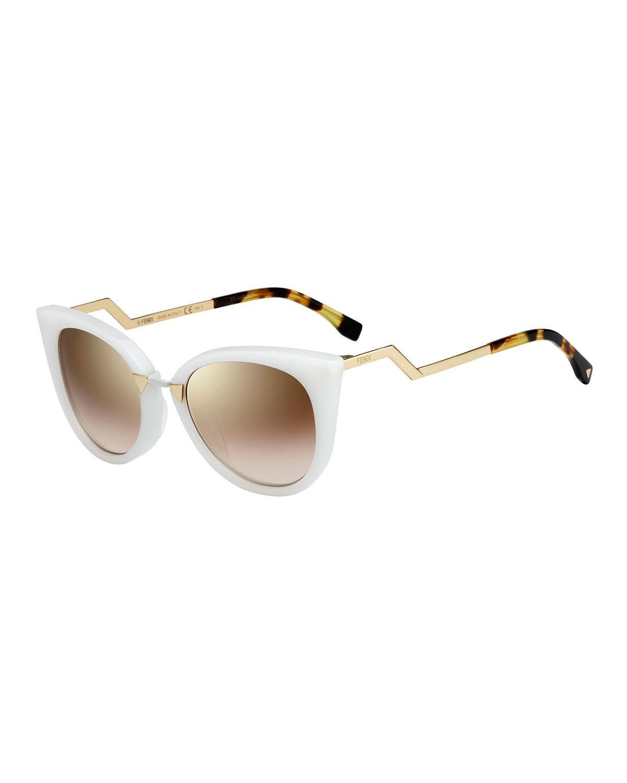 4c25e65b27b92 Gallery. Previously sold at  Bergdorf Goodman · Women s Cat Eye Sunglasses