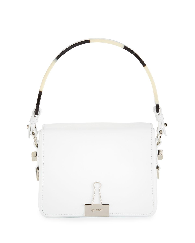 Off-white Smooth Leather Flap Crossbody Bag xG7uV0a