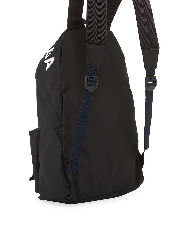 65e84c804778 Lyst - Balenciaga Men s Wheel Logo-print Backpack in Gray