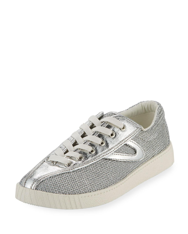 Converse Nylite Metallic Mesh Sneakers cheap how much XWONbpumD