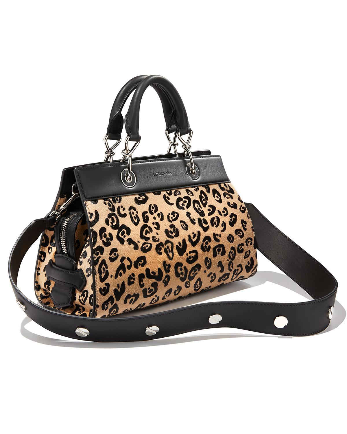 57e54b15848e Lyst - Altuzarra Shadow Small Leopard-print Tote Bag in Black