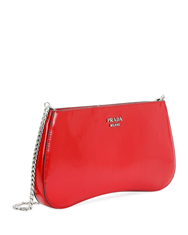 ecf223c73dfe Lyst - Prada Sidonie Crossbody Bag in Red