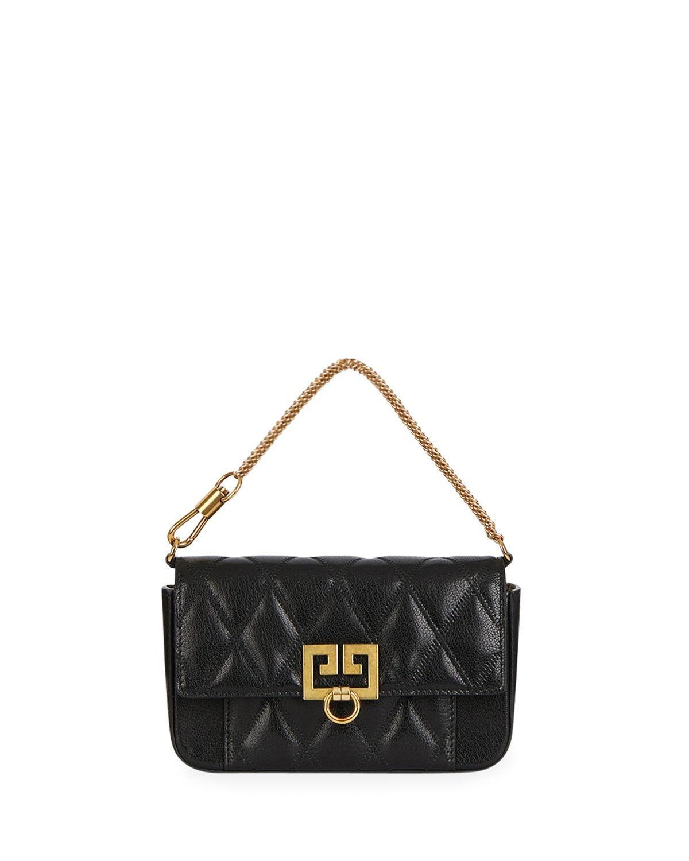 6aaf16545f5 Givenchy Pocket Mini Pouch Convertible Clutch/belt Bag - Golden ...