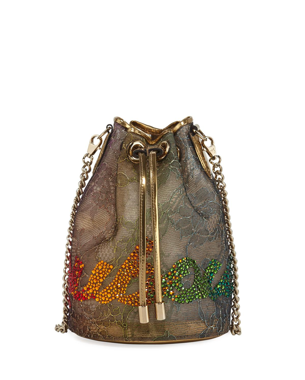 f8e8f647f165 Christian Louboutin. Women s Marie Jane Lace Bucket Bag
