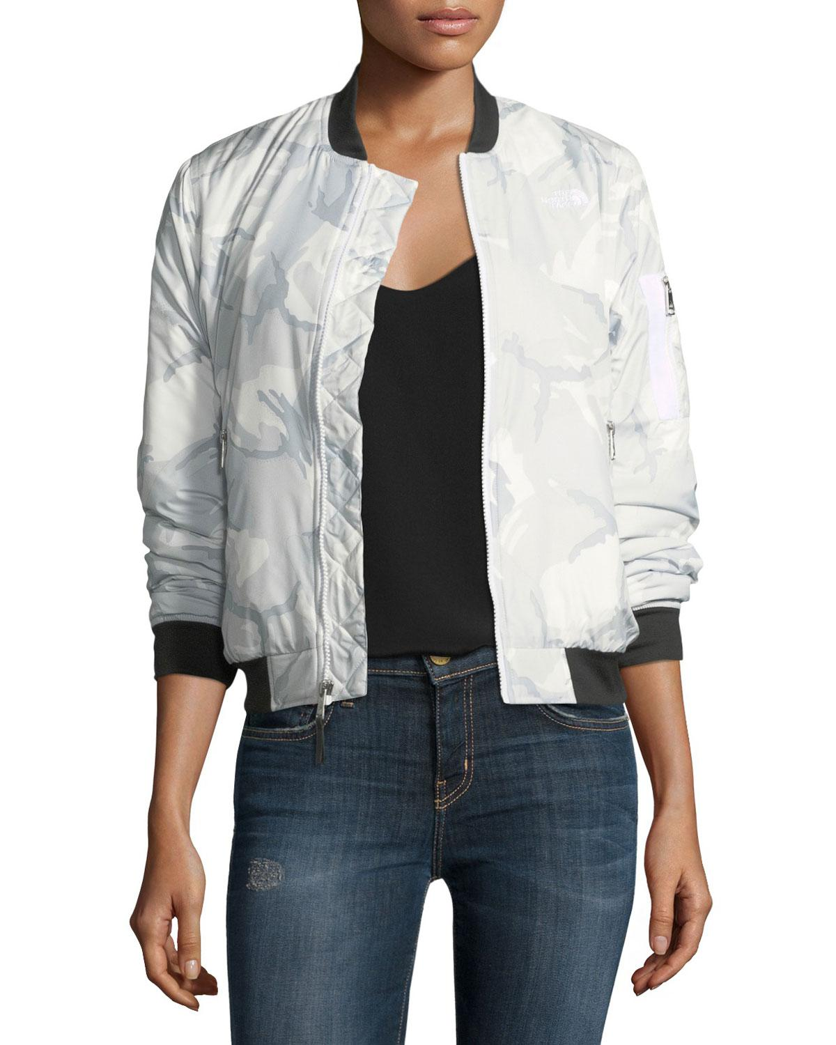 Lyst The North Face Barstol Insulated Bomber Jacket in White