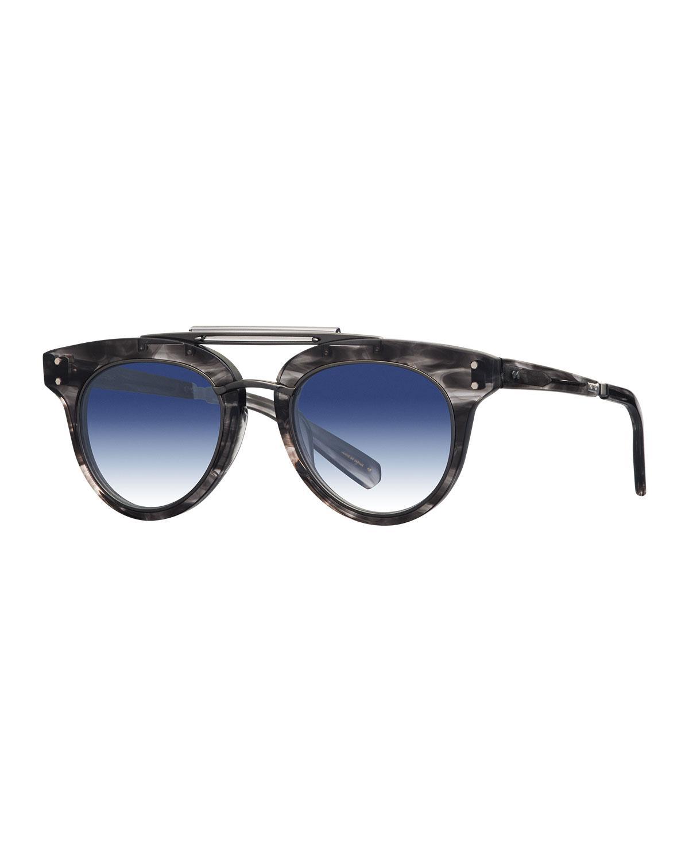 Runyon SL Cat-Eye Acetate Sunglasses Mr. Leight Zek4BQ1