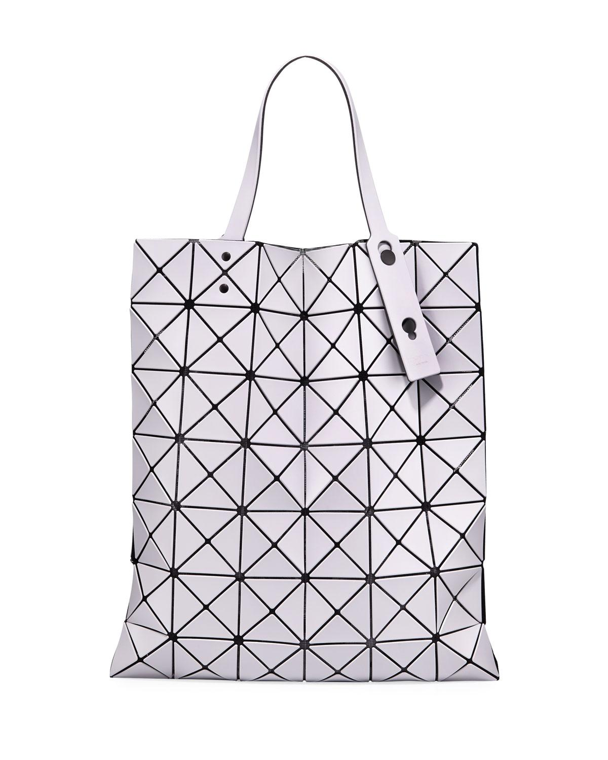Bao Bao Issey Miyake Lucent Matte Tote Bag in Gray - Lyst 7b477fd9c5654