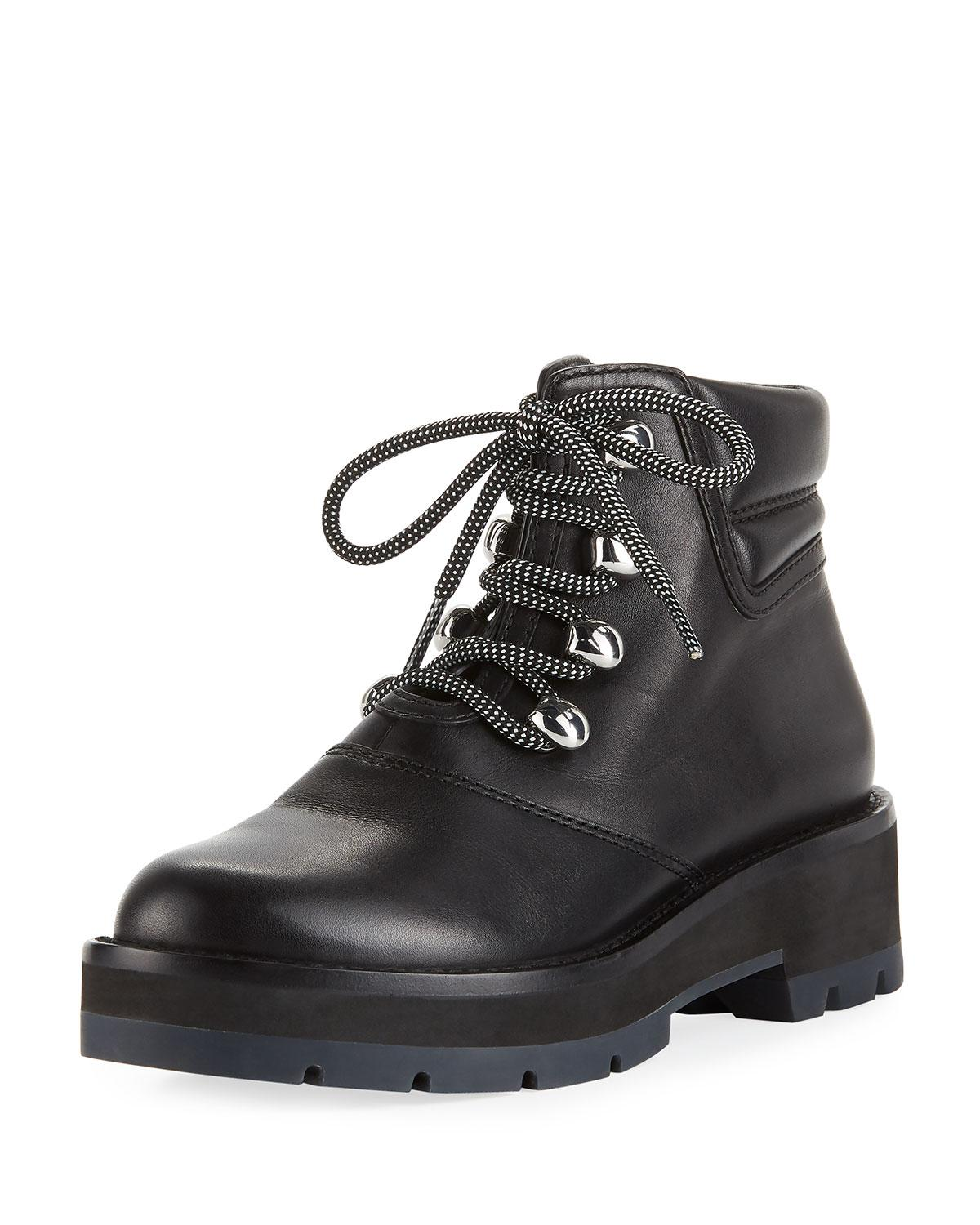 951210e791e7a Lyst - 3.1 Phillip Lim Dylan Lace-up Hiking Boot in Black - Save 20%