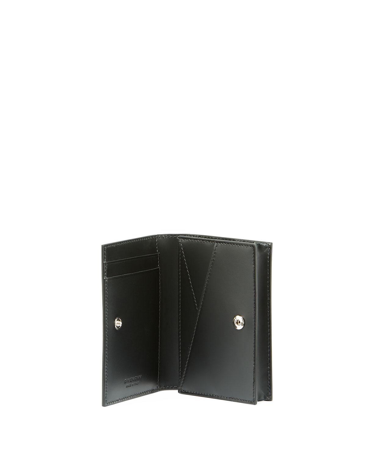 Lyst - Givenchy Camouflage Leather Business Card Case