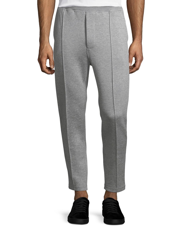 8bac4f1cca50 Lyst - Prada Felpa Cotton-blend Sweatpants in Gray for Men