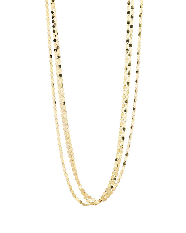Lana Jewelry Bond Nude 14K Two-Strand Necklace PR2Te7