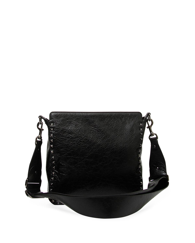 Valentino Rockstud Ricamo Arrows Heart Small Hobo Bag 4Tn3H