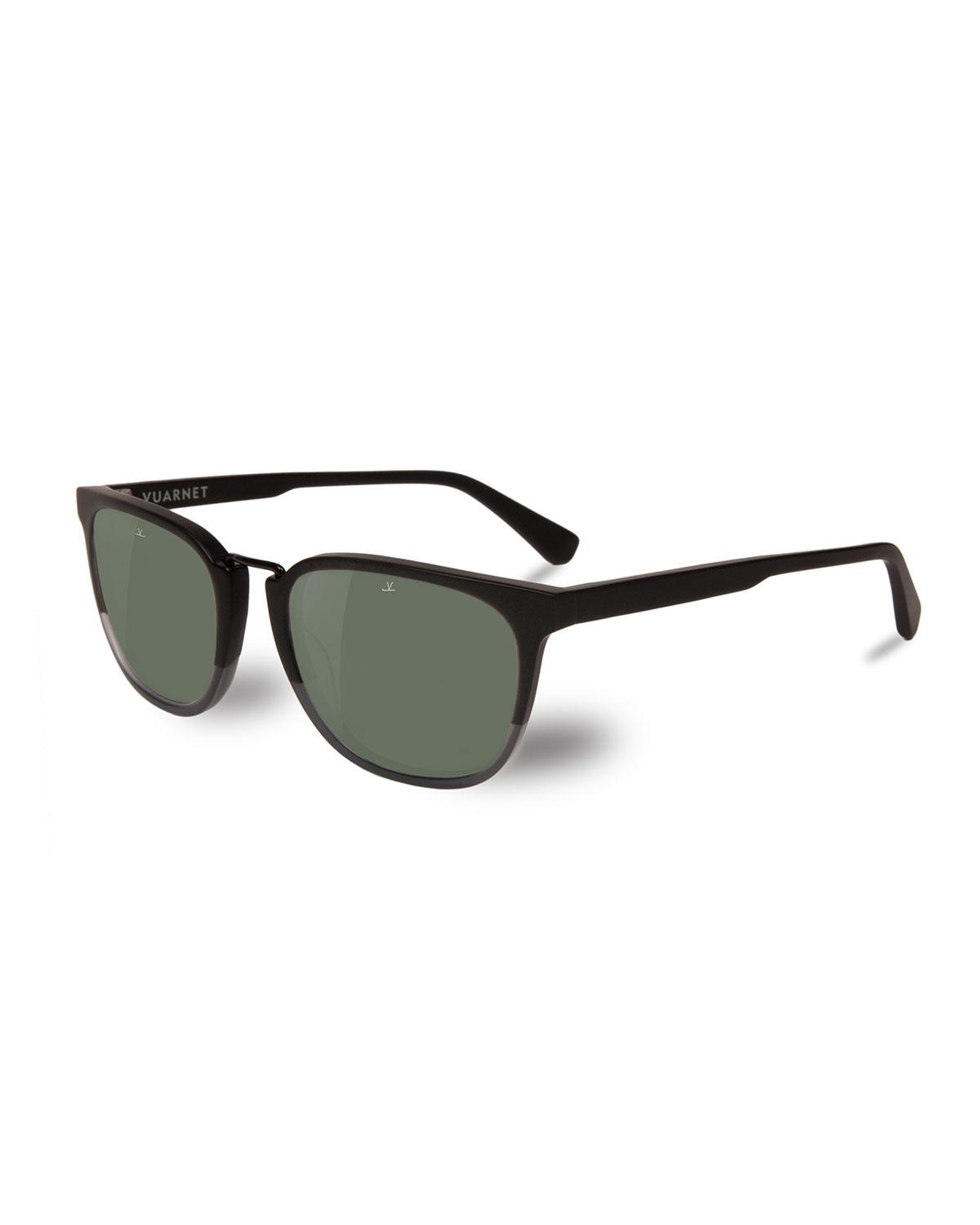369ef1a41c Vuarnet Men s Cable Car Square Polarized Stainless Steel acetate ...