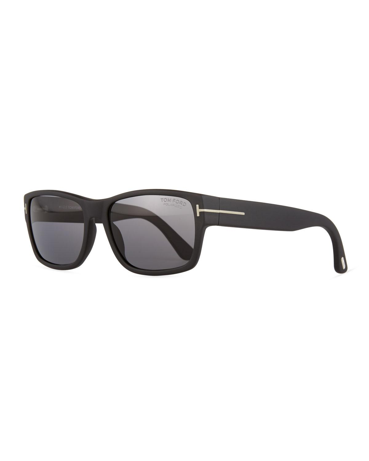 9664b5972bf Tom Ford - Black Mason Matte Polarized Sunglasses for Men - Lyst. View  fullscreen