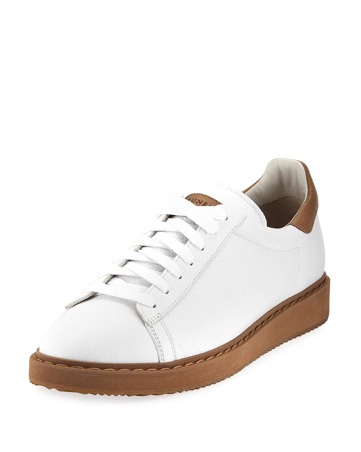 Brunello Cucinelli Metallic Low-Top Sneakers for sale official site online store cheap sale best place 17xVxQ