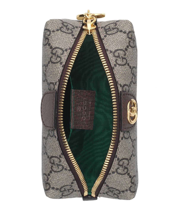 da8001bf96c Gucci Ophidia Mini GG Supreme Cosmetics Clutch Bag - Lyst