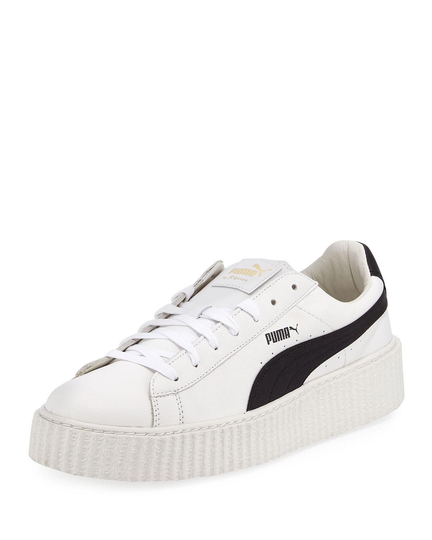 5ab6bdd4892e7a Lyst - PUMA Fenty By Rihanna Creeper Sneaker in White for Men - Save 54%