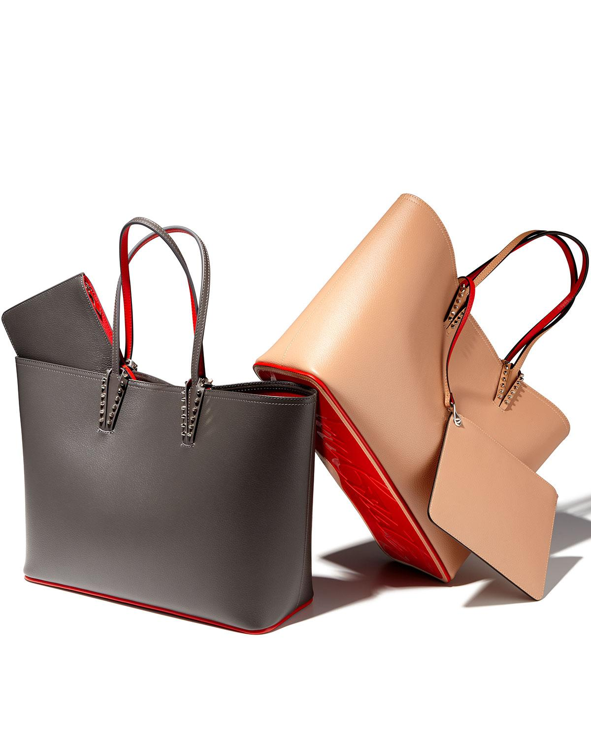 1543f4047 Christian Louboutin Cabata East-west Leather Tote Bag in Black - Lyst