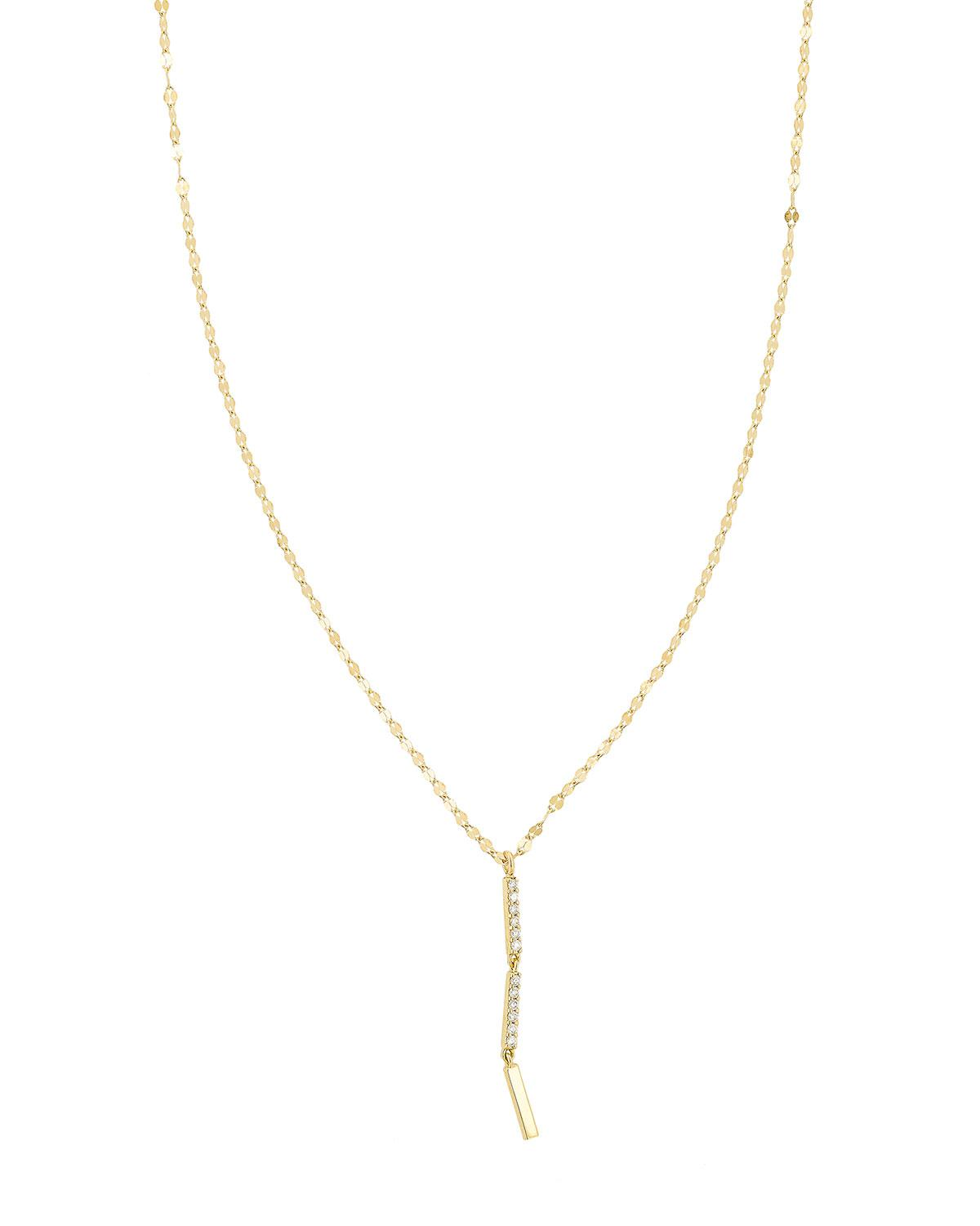 Lana Jewelry Flawless Vol. 6 14K Long Diamond Lariat Necklace uFXOO
