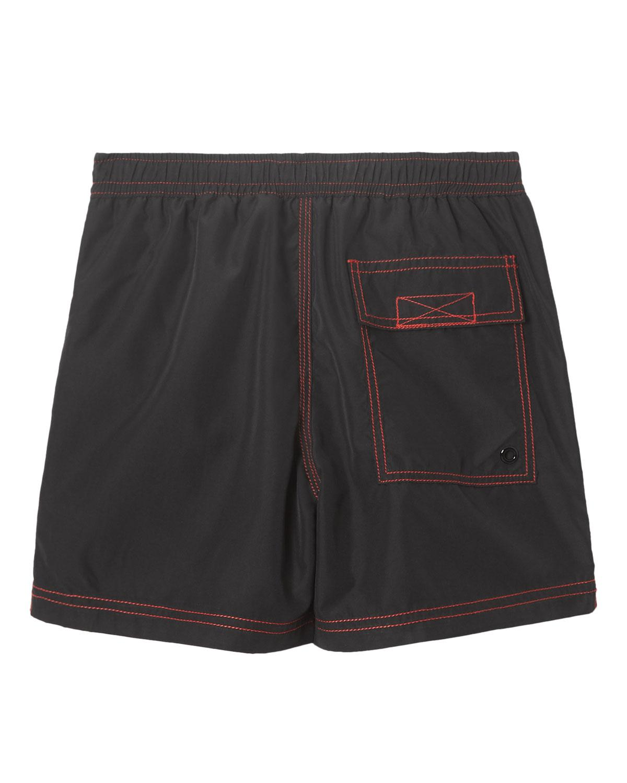 e36198925c Lyst - Burberry Little Boy's & Boy's Rafael Swim Shorts in Black for Men
