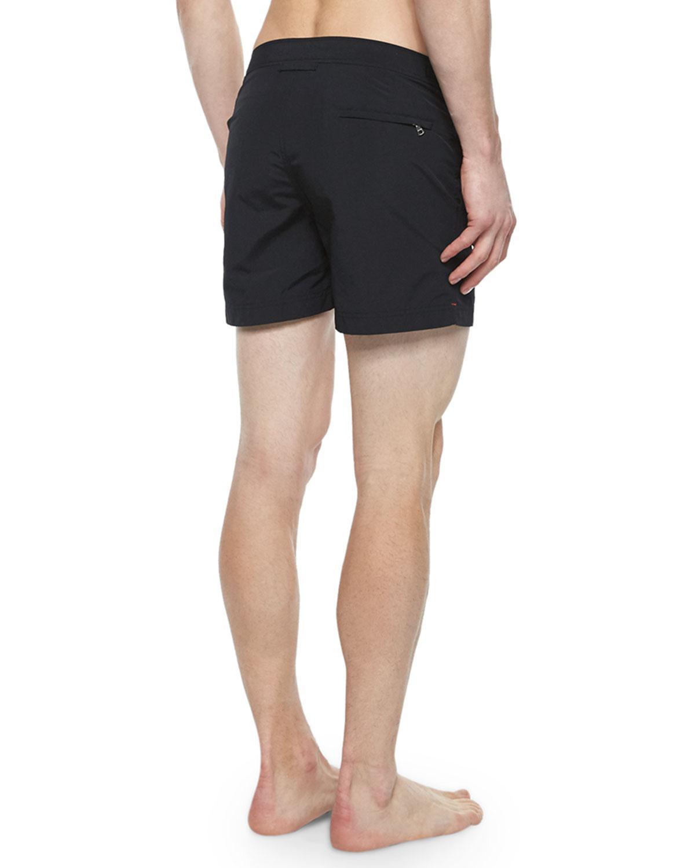 ecf4b47c2c Lyst - Orlebar Brown Setter Short-Length Swim Trunks in Black for Men