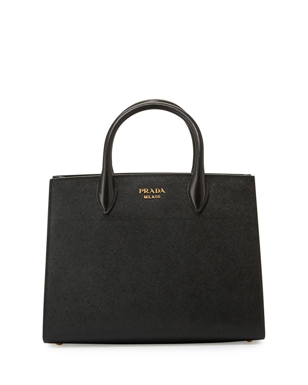 Biblioteque tote bag - Grey Prada 9W0QiSICyc