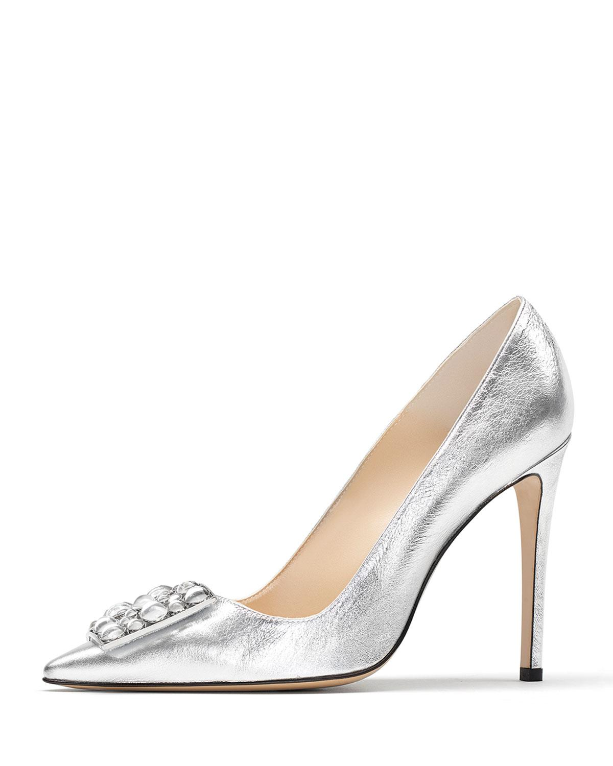 Paul AndrewOtto embellished pumps