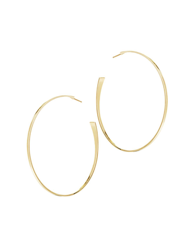 Lana Jewelry 14k Curve Hoop Earrings NboQD95I