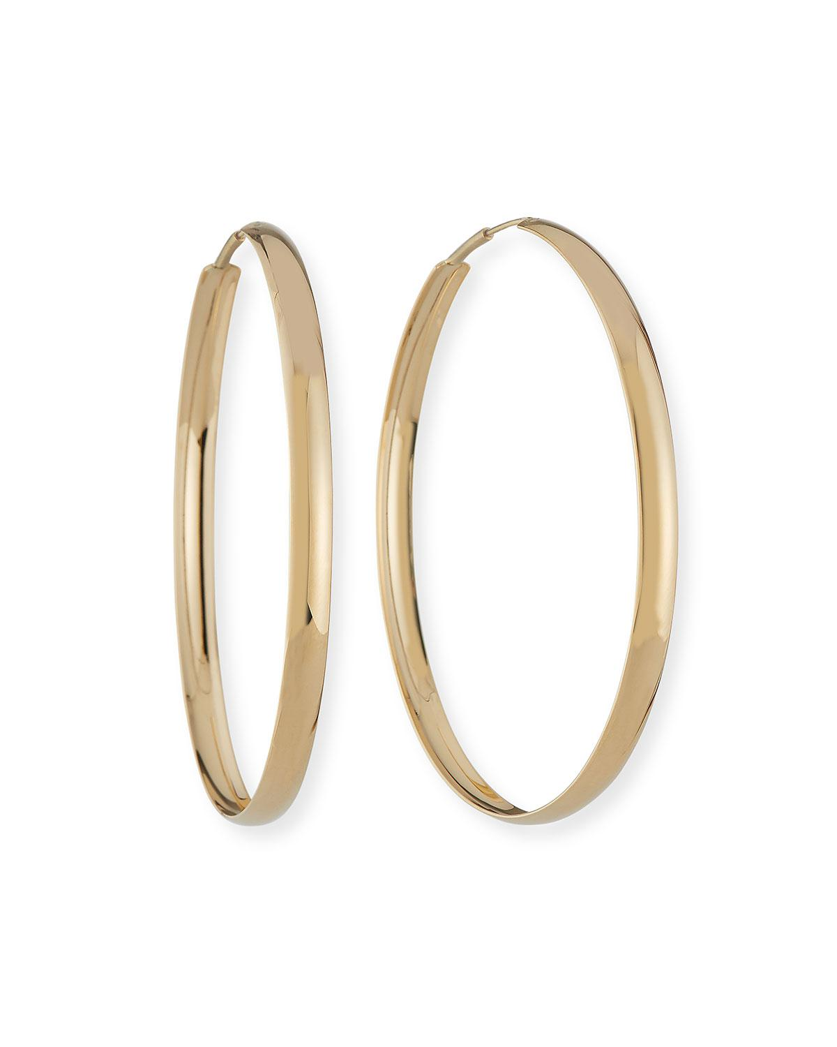Lana Jewelry 14k Curve Magic Hoop Earrings iyGT7eoh