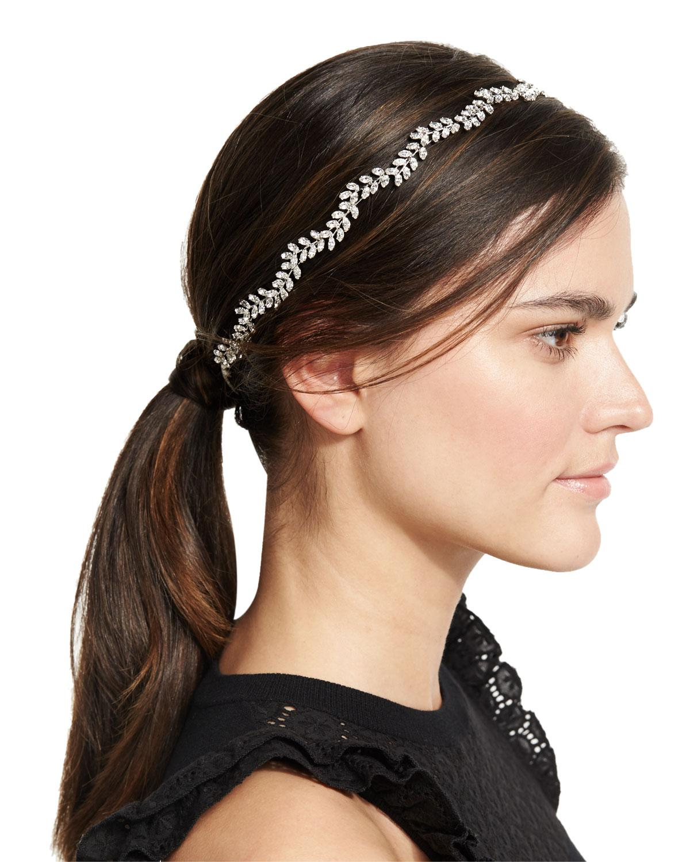 Jennifer Behr Petite Vine Crystal Headband TXCuPIF4M3