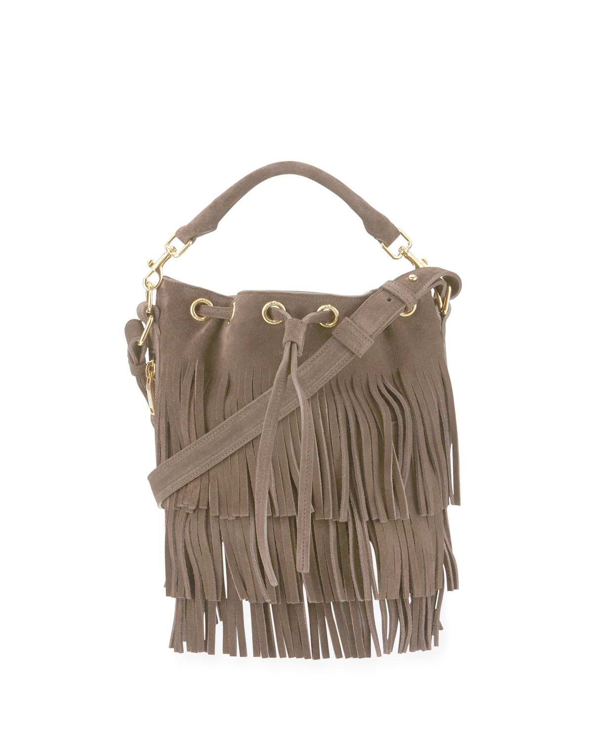 c826d27b334b Gallery. Previously sold at  Bergdorf Goodman · Women s Fringed Bags  Women s Saint Laurent ...