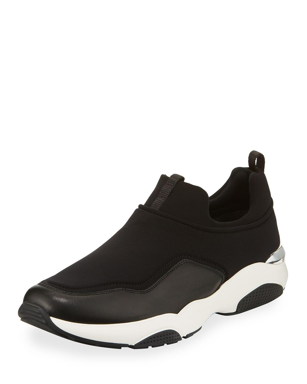 Ecco Slip On Mens Shoes Round Toe
