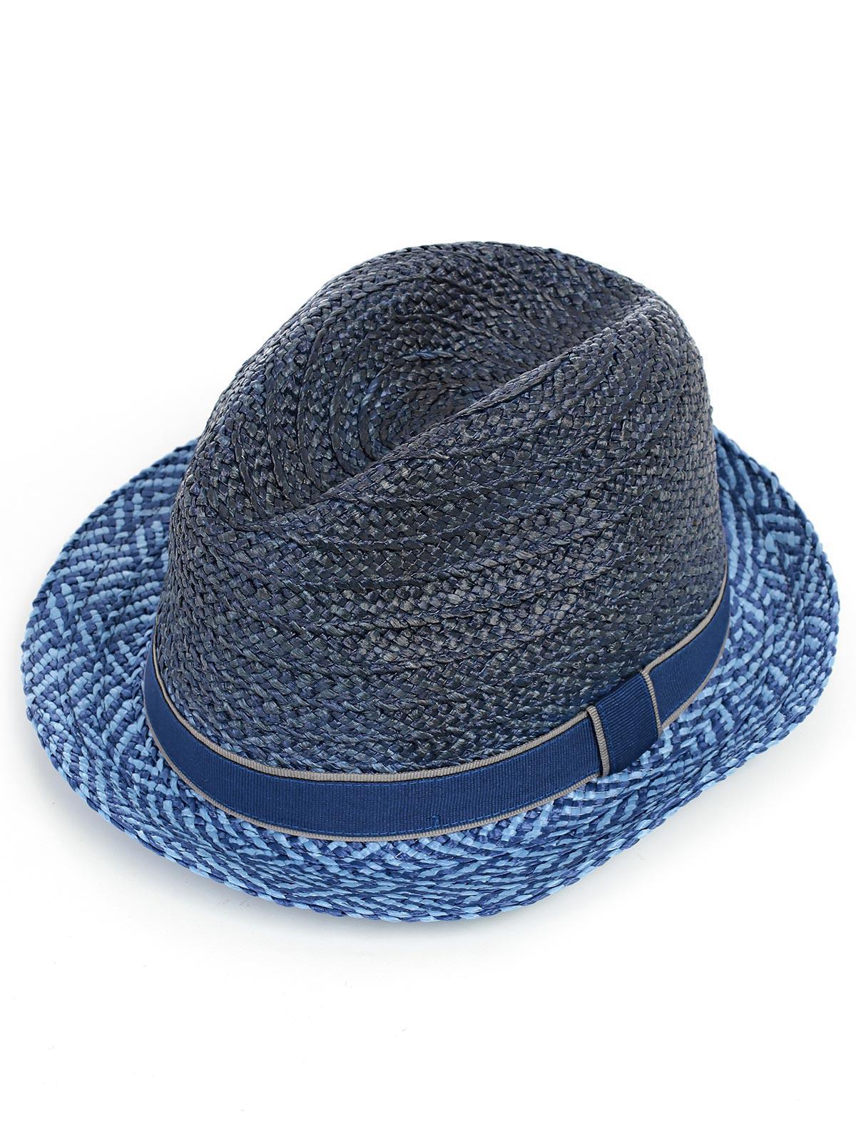 Lyst - Paul Smith Cappello Paglia in Blue for Men df71e624ba10