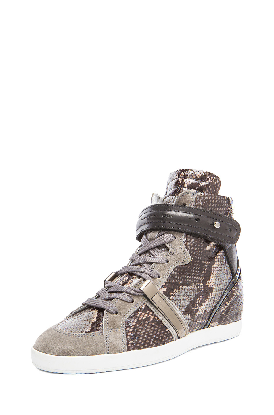 Barbara Bui Brocade High-Top Sneakers clearance good selling cheap sale low price sale pick a best cZRTc27