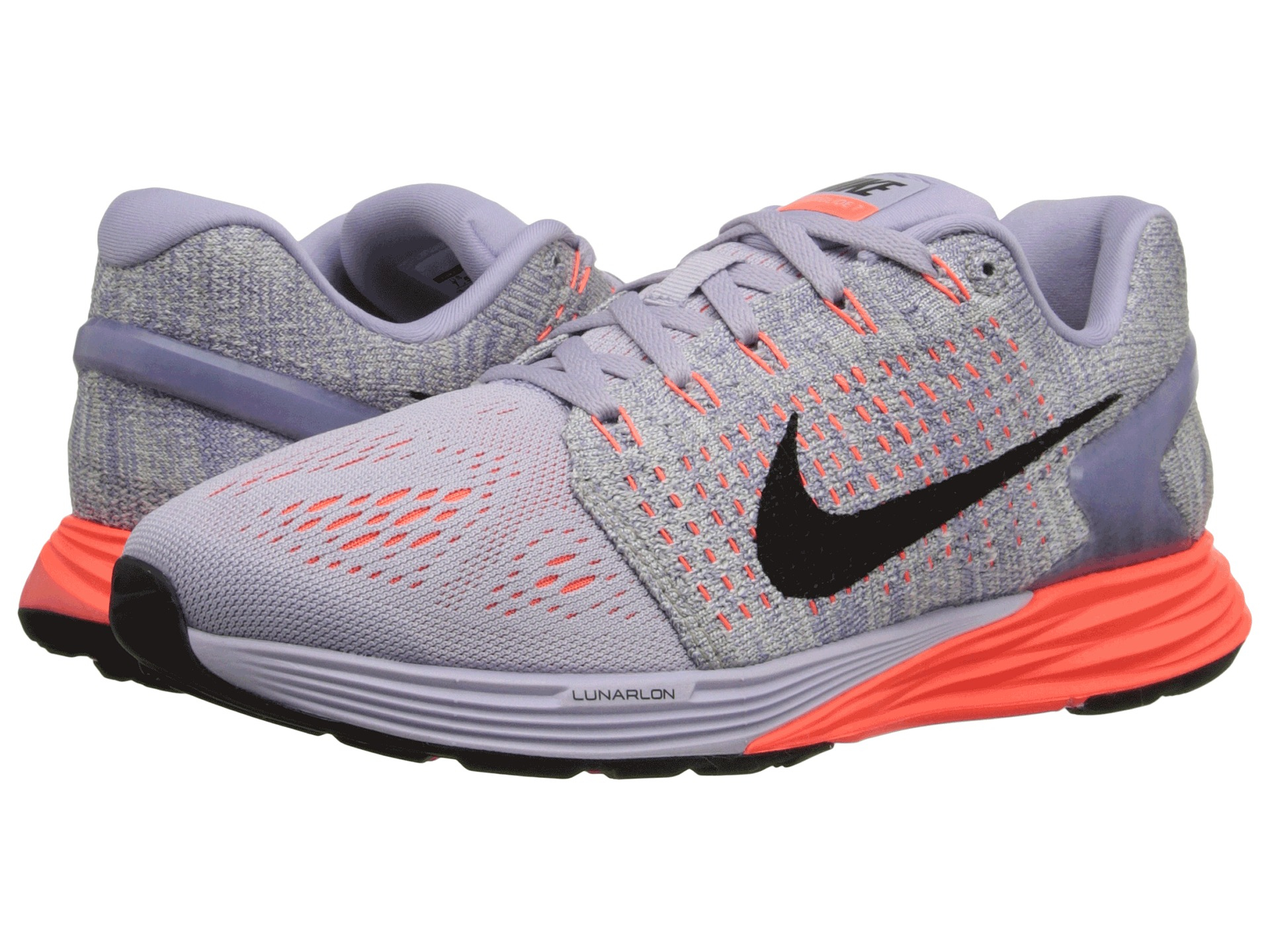 new style 5340c af7a1 Nike Lunarglide 7 in Purple - Lyst