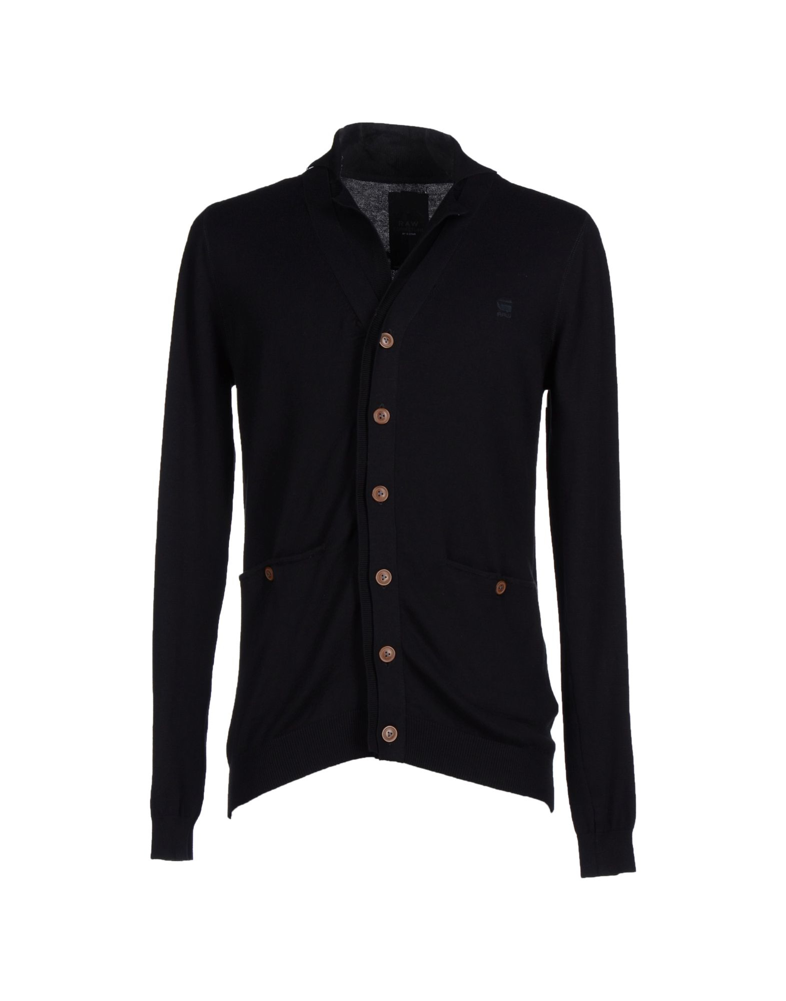 g star raw cardigan in black for men lyst. Black Bedroom Furniture Sets. Home Design Ideas