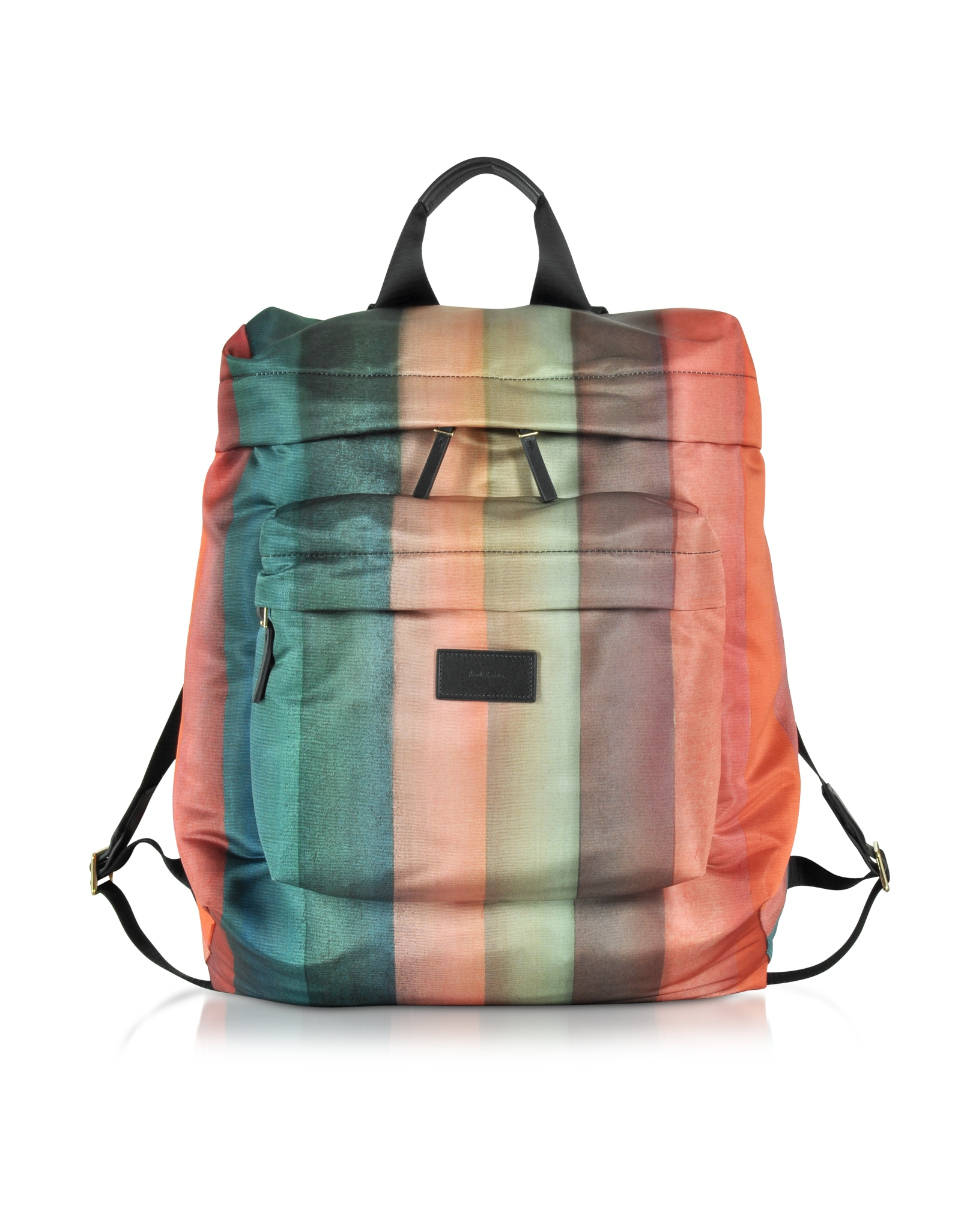 Paul Smith Men s Painted Rainbow Stripe Print Backpack for Men - Lyst b96968be0
